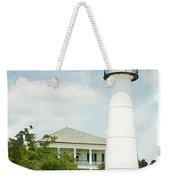 Biloxi Lighthouse Sketch Photo Weekender Tote Bag