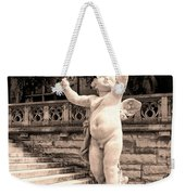 Biltmore Cherub Asheville Nc Weekender Tote Bag by William Dey