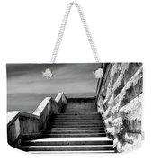Biltmore Stairs Asheville Nc Weekender Tote Bag by William Dey