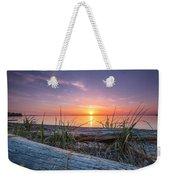 Birch Bay Sunset Weekender Tote Bag