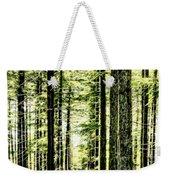 Birch Forest Fractal Weekender Tote Bag