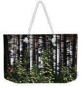Birch Illusion Weekender Tote Bag
