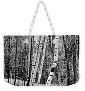Birch Sentinels Weekender Tote Bag