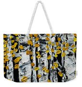Birch Study Fall Weekender Tote Bag