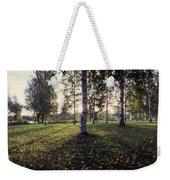 Birch Trees, Imatra, Finland Weekender Tote Bag