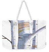 Birch Trees In Three Weekender Tote Bag