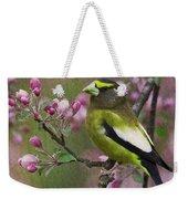 Bird 5 Weekender Tote Bag