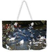 Bird Bash Weekender Tote Bag