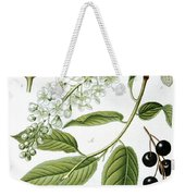 Bird Cherry Cerasus Padus Or Prunus Padus Weekender Tote Bag