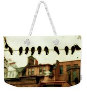 Bird Cityscape Weekender Tote Bag