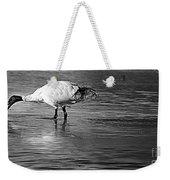 Bird Drinking Weekender Tote Bag