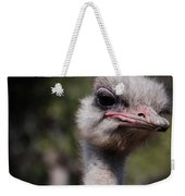 Bird Face Weekender Tote Bag