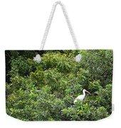Bird In Bush Weekender Tote Bag