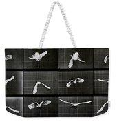 Bird In Flight Weekender Tote Bag