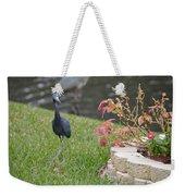 Bird In Yard Weekender Tote Bag