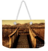 Bird Lookout-bosque Del Apache  Weekender Tote Bag