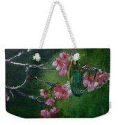 Bird N Blossom.... Weekender Tote Bag
