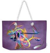 Bird-of-paradise - Abstract Weekender Tote Bag