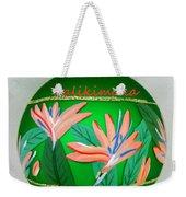 Bird Of Paradise Christmas Bulb Weekender Tote Bag