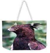 Bird Of Prey In Watercolor Weekender Tote Bag