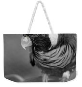 Bird On A Chain Weekender Tote Bag