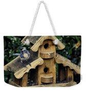 Bird On A House Weekender Tote Bag