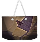 Bird On A Ledge Weekender Tote Bag