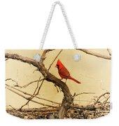 Bird On A Vine Weekender Tote Bag