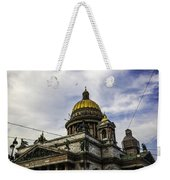 Bird Over St Basil's Cathedral Weekender Tote Bag