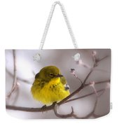 Bird - Pine Warbler - Yellow Beauty Weekender Tote Bag