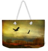 Country Bird Rail Weekender Tote Bag