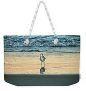 Bird Reflection Weekender Tote Bag
