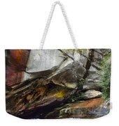Bird Rock Waterfall Weekender Tote Bag