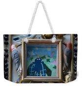 Bird Shadows - Framed Weekender Tote Bag