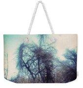 Bird Shaped Tree Weekender Tote Bag