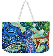 Bird Song 2 Weekender Tote Bag by Genevieve Esson