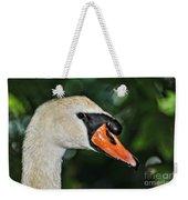 Bird - Swan - Mute Swan Close Up Weekender Tote Bag