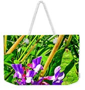 Bird Vetch On Bow River Trail In Banff National Park-alberta  Weekender Tote Bag