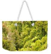 Bird View Of Lush Green Sub-tropical Nz Rainforest Weekender Tote Bag