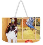 Bird Watching Weekender Tote Bag by Ditz