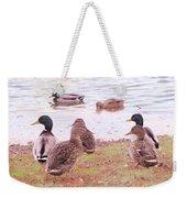 Bird Wildlife Weekender Tote Bag