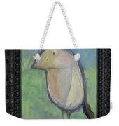 Bird With Found Feather Weekender Tote Bag