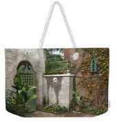 Birdhouse And Gate Weekender Tote Bag