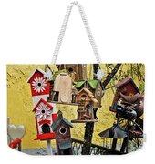 Birdhouse Subdivision Weekender Tote Bag