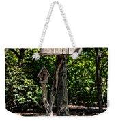 Birdhouses In The Trees Weekender Tote Bag
