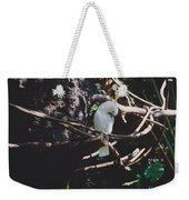 Birdie Sitting In The Tree Weekender Tote Bag