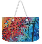 Birds And Blossoms By Madart Weekender Tote Bag