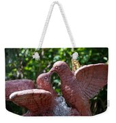 Birds And Butterfly Weekender Tote Bag