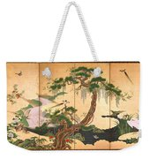 Birds And Flowers Of Spring And Summer Weekender Tote Bag