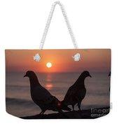 Birds At Sunrise Weekender Tote Bag by Nelson Watkins